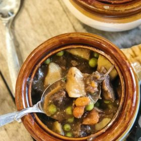 Winter Glamping, Cooking with friends & Beef Stew guest blog.